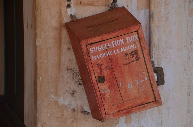 Kill the suggestion box - there's a much better way