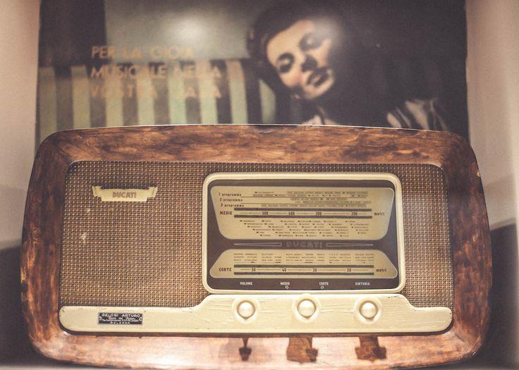 Ducati radio Museum vintage