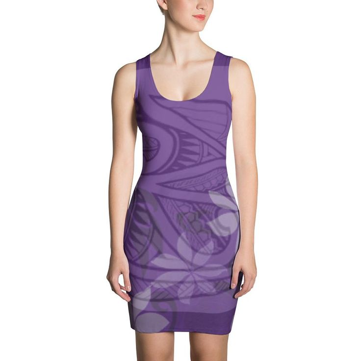 Pacifica Purple Dress