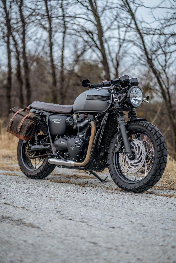 Custom Bonneville T120 Black.