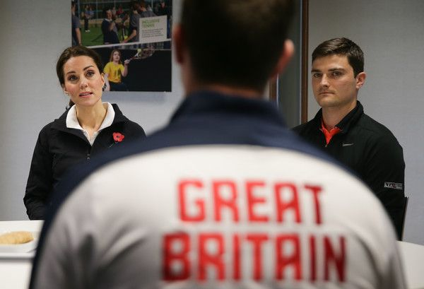 Kate Middleton Photos - Catherine, Duchess of Cambridge listens during a briefing from representatives of the LTA during during a visit at the Lawn Tennis Association (LTA) at the National Tennis Centre on October 31, 2017 in southwest London, England. The Duchess of Cambridge, who became Patron of the LTA in December 2016, visited the LTA, the national governing body of tennis in Great Britain, where she was briefed on the organisations latest activities and objectives, and had the…