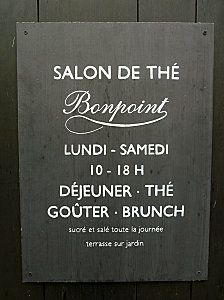 Le Salon de Thé Bonpoint- Paris