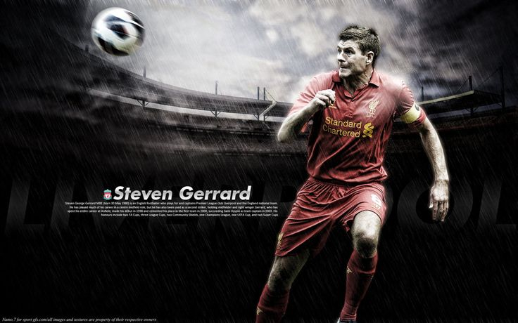 Steven Gerrard Wallpaper HD 2013 #12