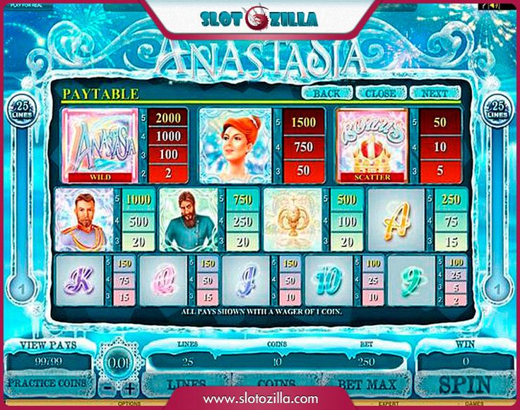 The Lost Princess Anastasia free #slot_machine #game presented by www.Slotozilla.com - World's biggest source of #free_slots where you can play slots for fun, free of charge, instantly online (no download or registration required) . So, spin some reels at Slotozilla! The Lost Princess Anastasia slots direct link: http://www.slotozilla.com/free-slots/lost-princess-anastasia