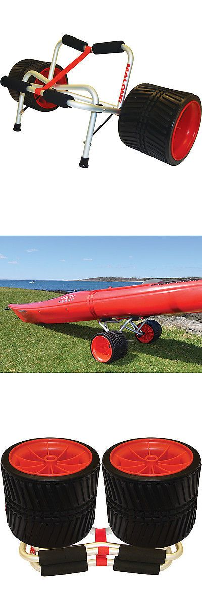 Accessories 87089: Malone Clipper? Universal Canoe And Kayak Cart W No-Flat Rover Beach Wheels -> BUY IT NOW ONLY: $143.99 on eBay!