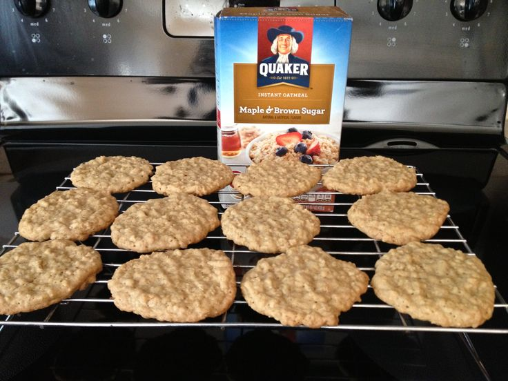 Oatmeal cookies instant oatmeal recipe