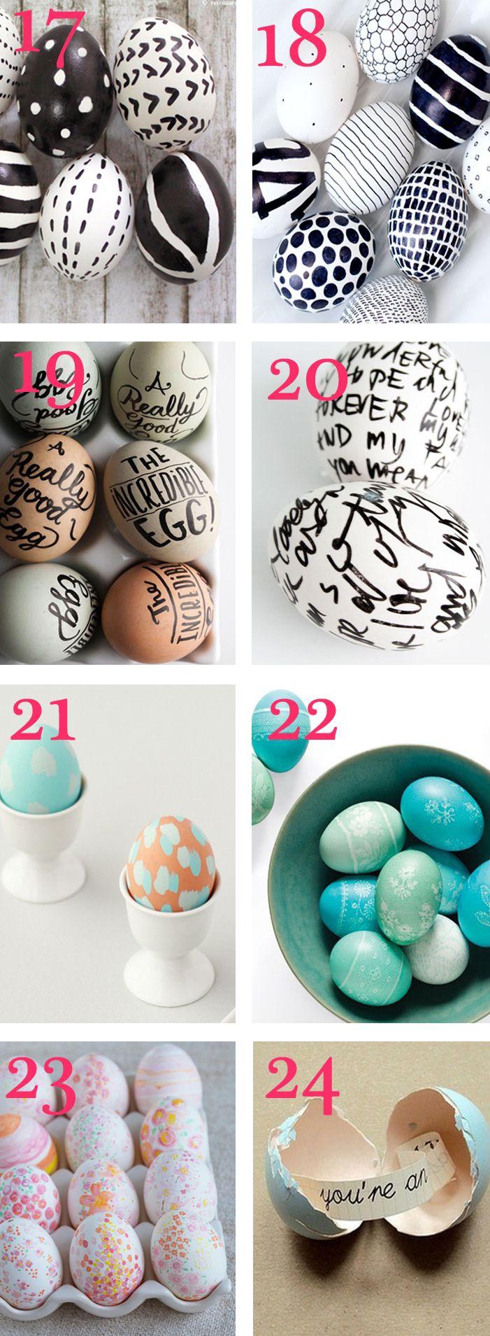 30 Best Easter Egg DIYs
