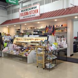 Photo of Wojciechowskis Bologna Kitchen - Columbus, NJ, United States. New store front in the newly built Columbus flea market food court.