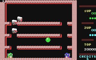 Bubble Bobble, Commodore 64, 1987
