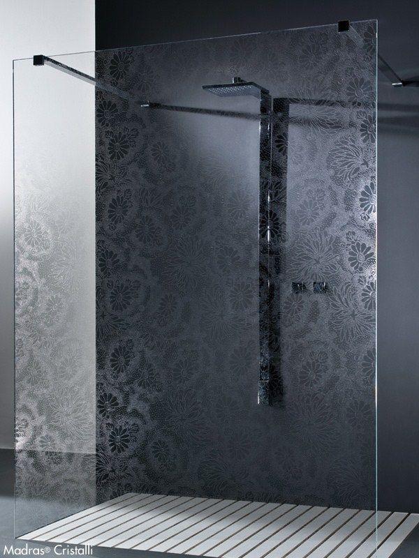 Paroi de douche en cristal MADRAS® KIMONO CRISTALLI Collection MADRAS® CRISTALLI by Vitrealspecchi
