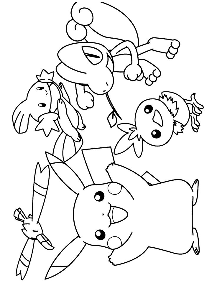 42+ Color by number coloring pages pokemon ideas in 2021