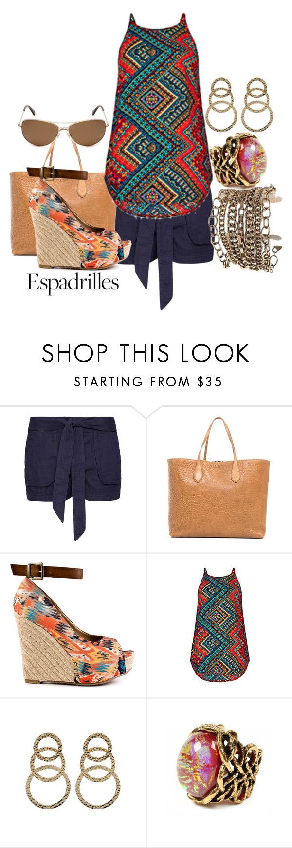 """Untitled #471"" by frederick-danielle on Polyvore featuring MANGO, Rochas, Chinese Laundry, Amrita Singh and Kate Spade"