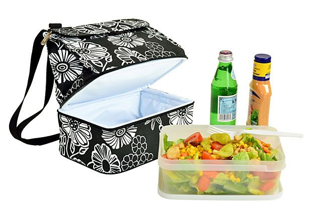 Lunch Cooler & Container, Night Bloom on OneKingsLane.com  Sale 19.00 (Retail 30.00): Tutoriel Couture, Colleges Corner, Gifts Ideas, Let S Save, Lunches Coolers, Onekingslane Com Sales, 19 00 Retail, Night Bloom, Retail 30 00