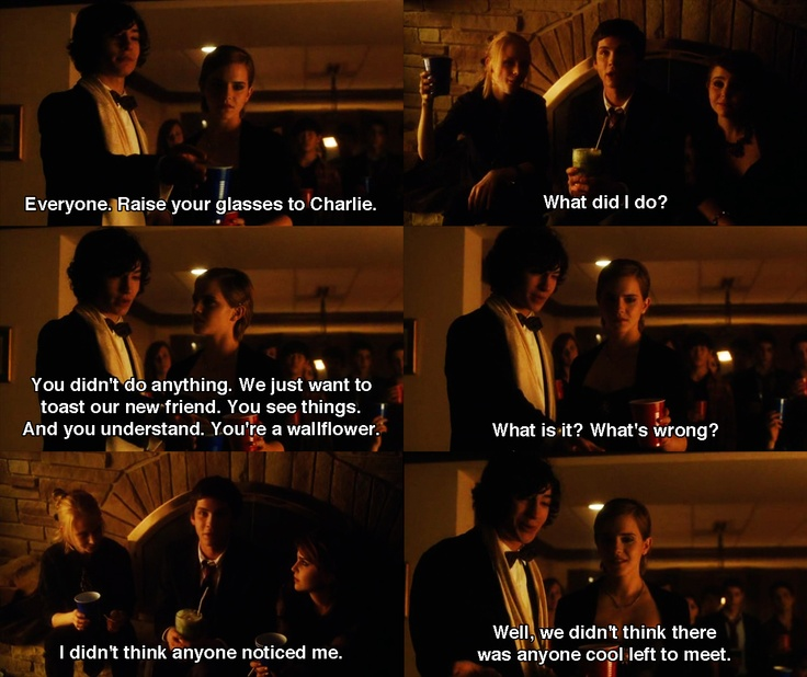 Movie Clip Quotes: 104 Best Images About The Perks Of Being A Wallflower On