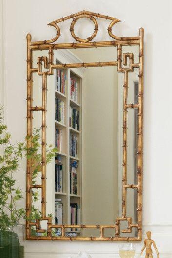 Pagoda mirror iron pagoda mirror japanese style mirror for Asian style mirror