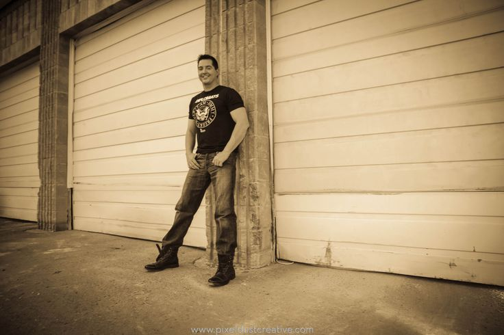 """Photo shoot for recording artist Robert Larrabee for the CD release of """" Middle Of Something"""" available on iTunes, shot in Medicine Hat Alberta 2013, photo supplied by Pixeldust."""
