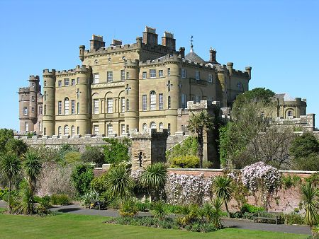 Culzean Castle, Scotland | Sir Thomas Kennedy, 9th Earl of Cassillis, went on an extended grand tour in the 1750s and returned full of ideas as to how to improve his vast estates and home. His brother and heir commissioned Robert Adam to create his masterpiece and became bankrupt as a result. The estate was rescued when wealthy American cousins inherited it in 1792.