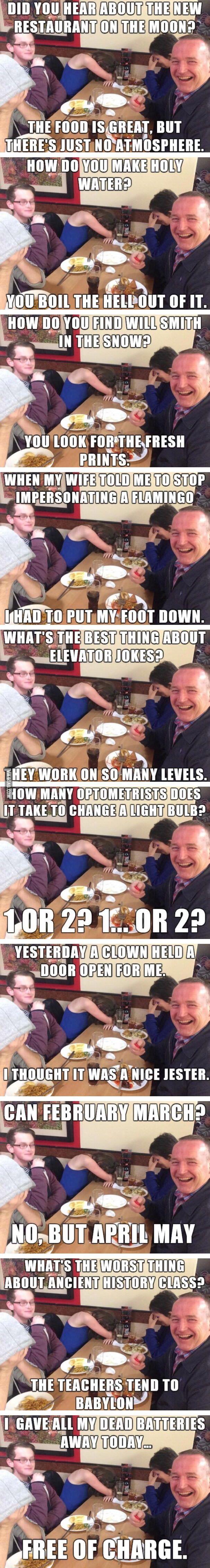 Dad jokes - 9GAG