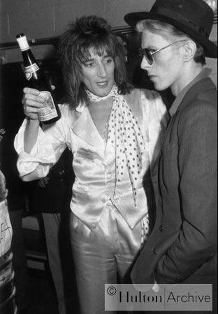 Rod Stewart ; David Bowie