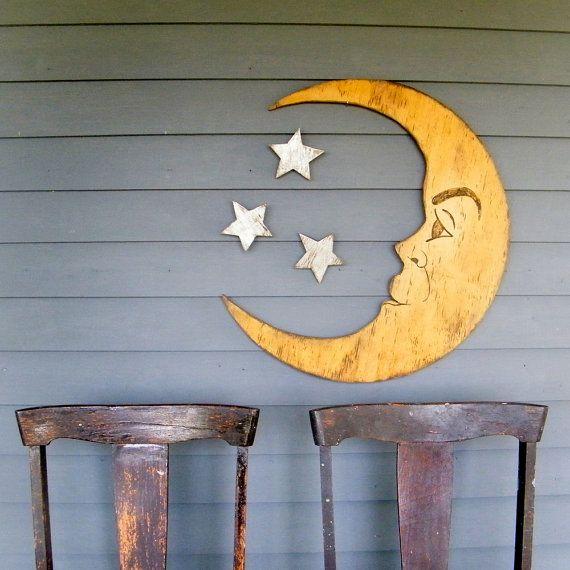 man in the moon: Nurseries Decor, Wall Art, Moon Signs, Halloween Photo, Moon Photo, Photo Props, Stars, Nursery Decor, The Moon