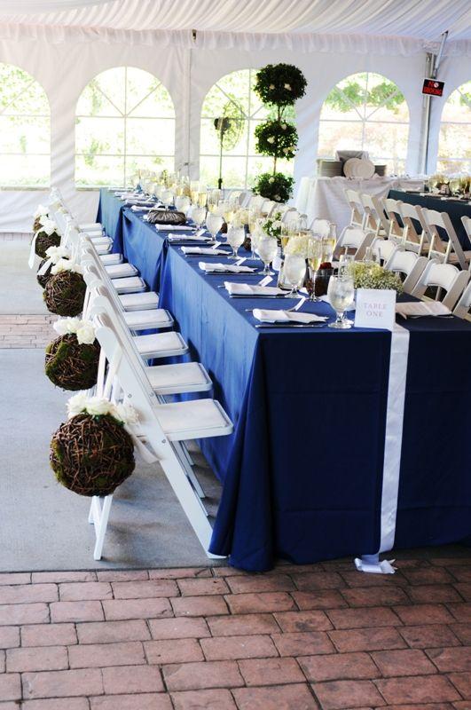 25 best B L E U R O I images on Pinterest Blue weddings