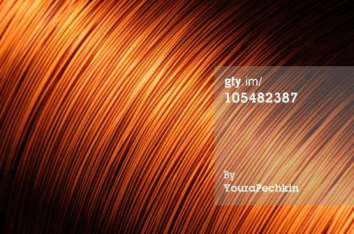 Stock Photo : copper