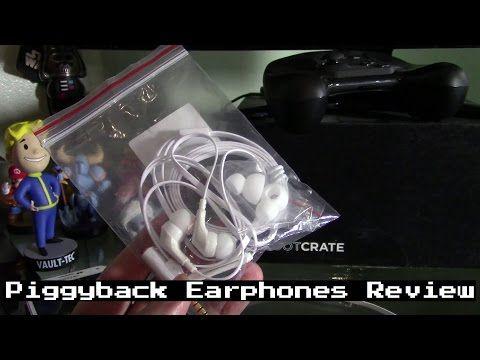 PIGGYBACK Earphones Review - Tech Geek Nelson