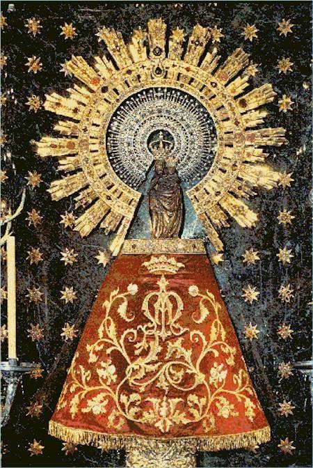 Virgen Nuestra Señora del Pilar - Zaragoza (España)