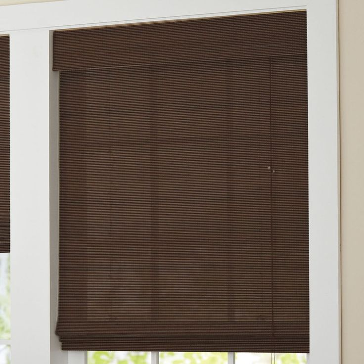 "Our new Roman shade is designed in eco-friendly bamboo for a stylish & appealing look. It nicely filters light and comes at an incredible price!    available in 9 sizes: 23"", 27"", 31"", 33"", 35"", 36"", 39"", 43"" or 48""W x 64""L, each  bamboo/polyester dust clean imported we offer tons of window solutions at great values every day, from curtains & drapes to sheers & energy savers!       Why Buy? Stylish, lightweight, and easy-to-clean, these blinds are the perfect  addition to any ..."