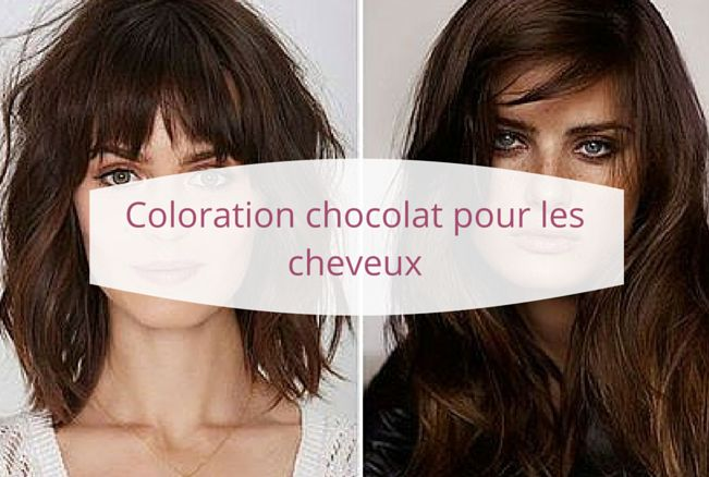 17 best images about coloration chocolat pour les cheveux. Black Bedroom Furniture Sets. Home Design Ideas