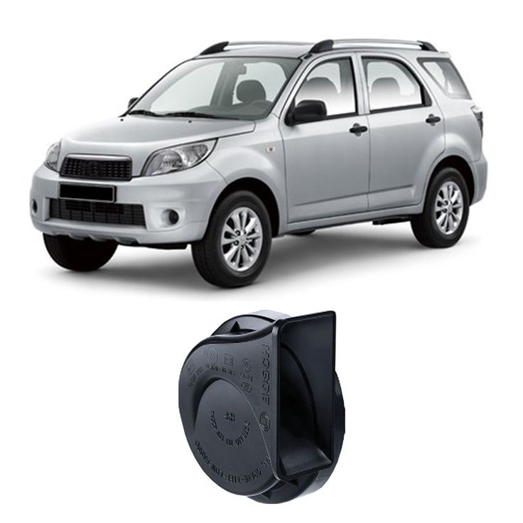 Bosch Klakson Mobil Daihatsu Terios H3F Digital Fanfare (Keong) Black 12V - Set - Hitam (0986AH0601)  Dijamin 100% genuine Bosch, Tahan Cuaca, Suara Nyaring & keras  http://klikonderdil.com/klakson/602-bosch-klakson-mobil-daihatsu-terios-h3f-digital-fanfare-keong-black-12v-set-hitam-0986ah0601.html  #bosch #klakson #jualklakson #daihatsuterios