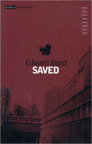 One of the things you have to do when you study drama is read plays. A lot of them. They're much harder to read than stories in my opinion. That being said, 'Saved' by Edward Bond is gritty, dark and political. It makes you realise that, we may be products of our environment but it doesn't matter where you come from. It matters where you go.
