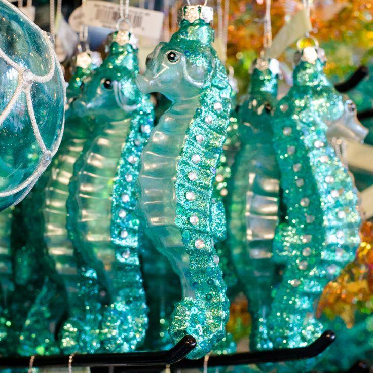 Seahorse Ornaments Mahoneysunderthesea Christmas