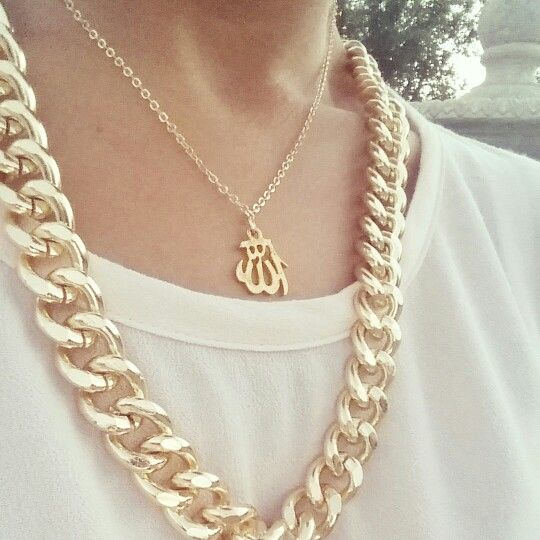 28 best islamic jewellery images on pinterest allah islamic and layered allah necklace aloadofball Images