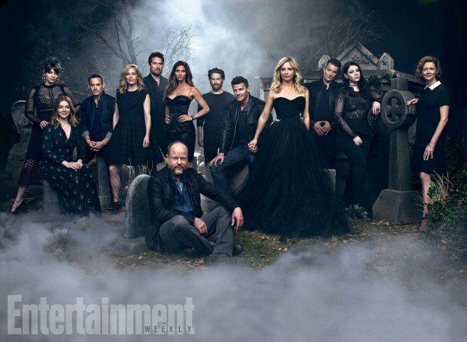 'Buffy the Vampire Slayer' cast reunites for 20th anniversary! https://www.cnet.com/news/buffy-the-vampire-slayer-cast-reunites-for-20th-anniversary-joss-whedon-sarah-michelle-gellar-david/