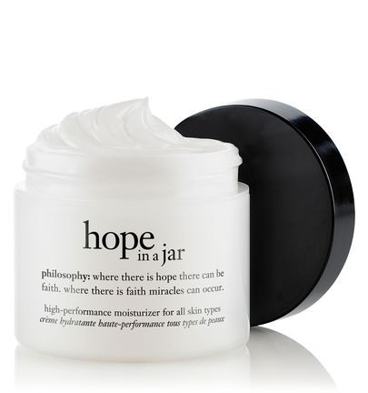hope in a jar original formula moisturizer for all skin types by philosophy - goes and smoothly and leaves skin soft and hydrated
