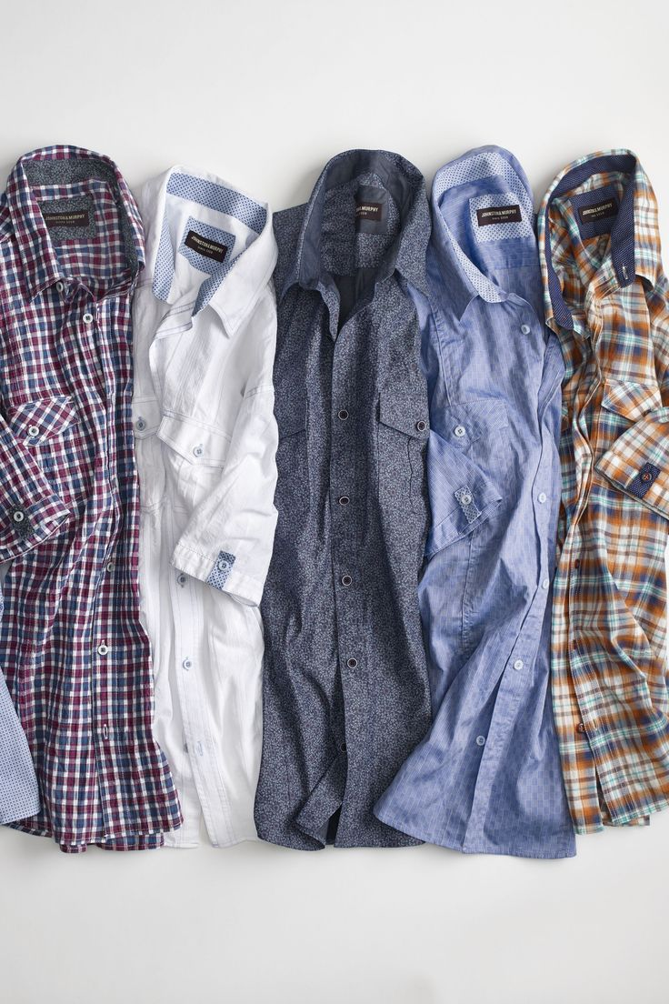 Summer Essential: Johnston & Murphy Classic Camp Shirts