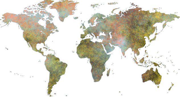 Карта Мира, Глобальные, География