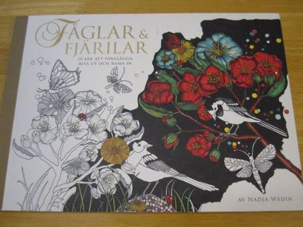 Faglar Fjarilar Coloring Book