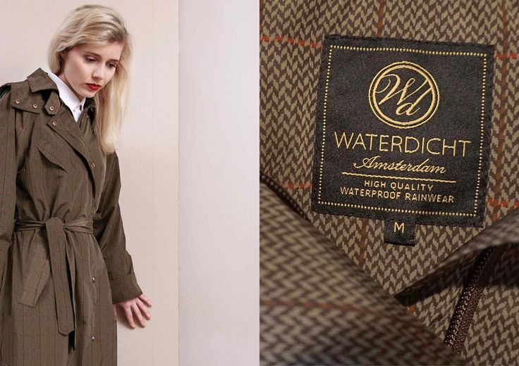 WATERDICHT Amsterdam | High quality waterproof rainwear COLLECTION STRAINCOATS (Stylish Raincoats) 2015 www.waterdicht.nl
