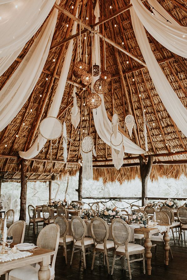 Tulum Beach Boho Hochzeit unserer Träume #tulumwedding #beachweddings #Mexicodesti …   – DIY Garland Ideas