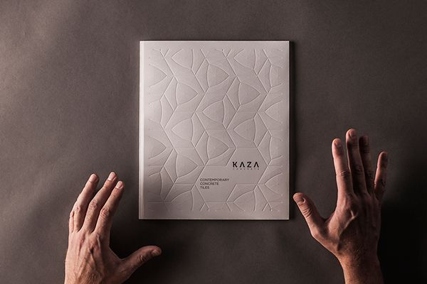 Specially embossed catalogue design by Next Ship