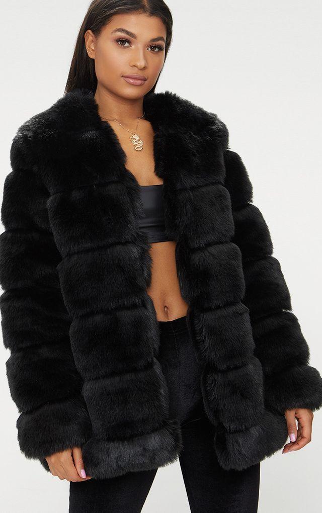 Faux Fur Coats | Women's Faux Fur Coats & Jackets | PrettyLittleThing USA | Faux  fur jackets women, Womens faux fur coat, Coats for women