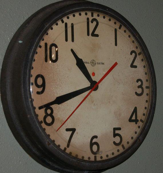 The 25 Best Industrial Clocks Ideas On Pinterest Huge