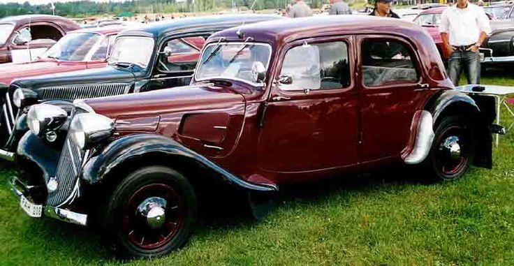 Citroen 11 Sport Berline 1939 - シトロエン・トラクシオン・アバン - Wikipedia