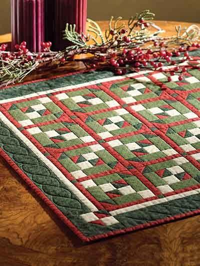 Quilting - Holiday & Seasonal Patterns - Christmas Patterns - Reindeer Tracks