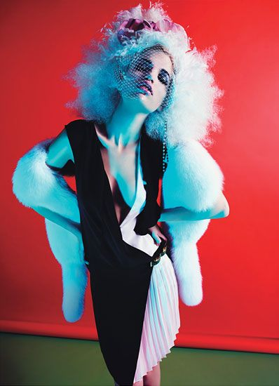 Photographs by Mario Sorrenti Styled by Edward Enninful March 2012.
