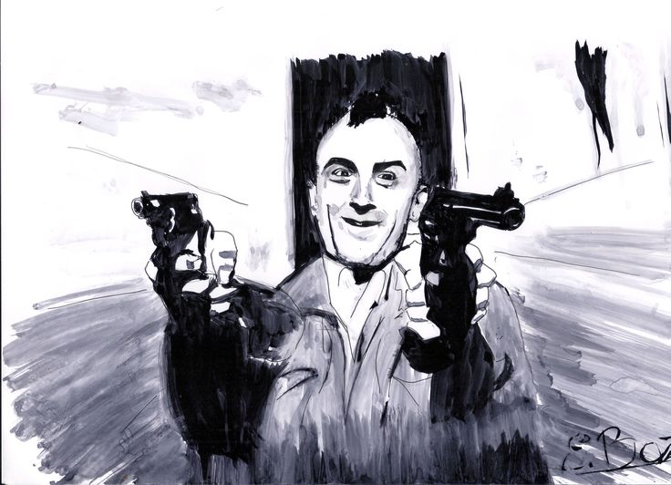 Travis Bickle - Taxi Driver . #travis #bikle #taxidriver #deniro #scorsese #film #art #artist #artfair #artgallery #black #bnw #blackandwhite #color #drawing #illustration #ink  #inspiration #mixedmediaart #paint ##portrait #portraits #portraiture #sketch #sketchbook #artsy  #watercolor #artoftheday  #artgallery
