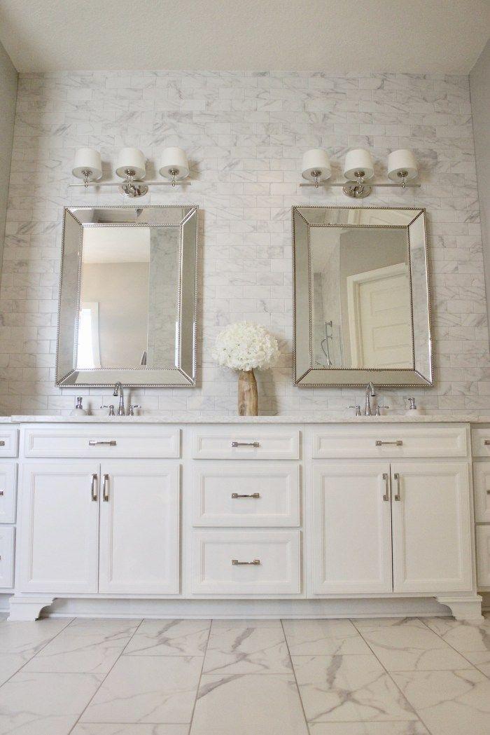 Diy Easy Bathroom Tile Wall Frills Drills Tile Bathroom Bathroom Tile Diy Bathroom Wall Tile