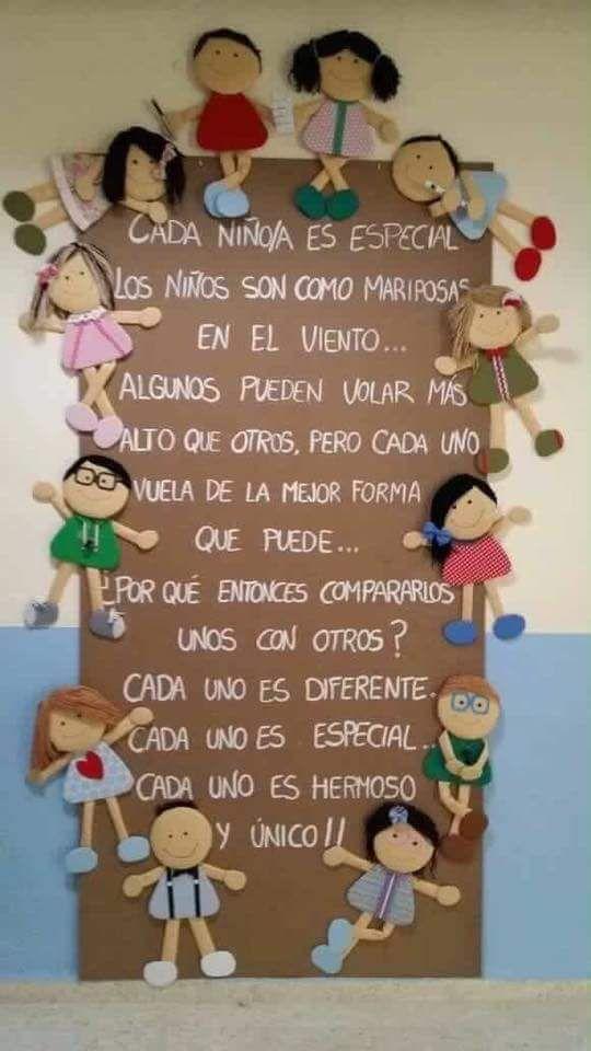 Puerta decorada dedicada a los niños                              …                                                                                                                                                                                 Más